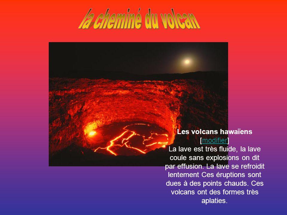 Les volcans hawaïens [modifier]